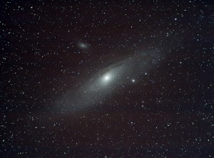 M31 - The Andromeda Nebula - Click to Enlarge