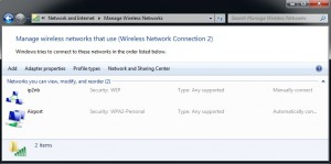 Manage Wireless NW