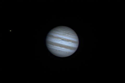 Jupiter and Io - 15/04/2014