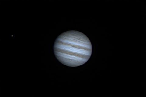 Jupiter and Io - 15/04/2014