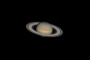 Saturn with ASI120MC Camera