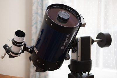 "8"" Meade LX90 ACF On iOptron Minitower II Pro Mount"